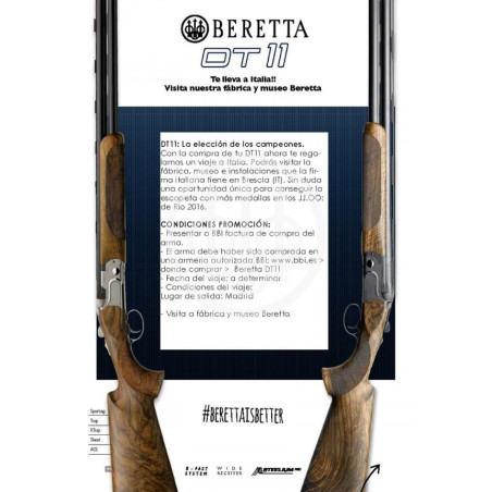 Escopeta Beretta Dt11 Black Edition Sporting
