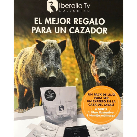 "PACK DE LUJO IBERALIA ""EL JABALÍ"""