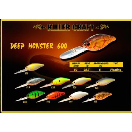 KILLER CRAFT DEEP MONSTER 600
