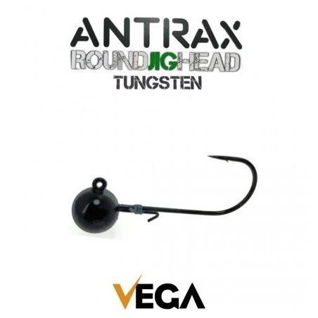 VEGA ANTRAX ROUND JIG HEAD 1/0