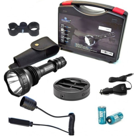 LINTERNA OLIGHT M2X JAVELOT KIT CAZA