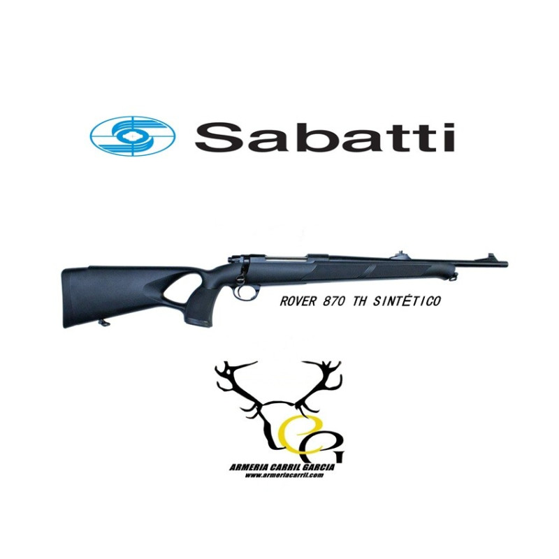 RIFLE SABATTI ROVER 870 TH SINTETICO