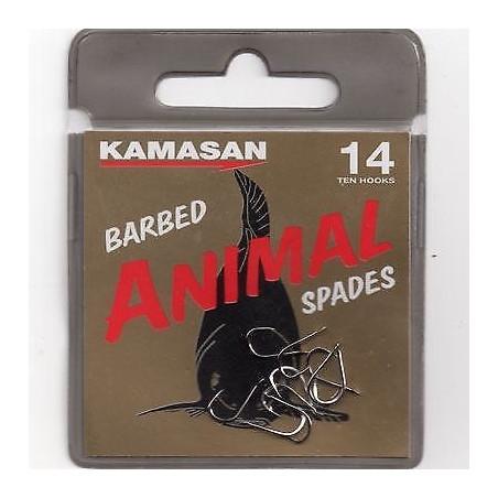 KAMASAN ANIMAL BARBED SPADES